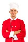 Proud chef man Stock Photo