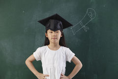 Proud child Royalty Free Stock Photography