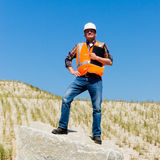 Proud Contractor Royalty Free Stock Images