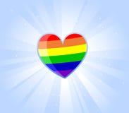 Proud heart Stock Image