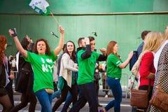 Proud Irish of St Patrick's Day Stock Photo