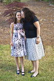 Proud Mother and Daughter Royalty Free Stock Photos