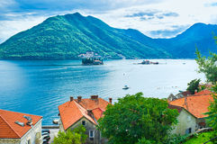 The proud of Perast Stock Images