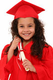 Proud Preschool Girl Graduate Child Royalty Free Stock Photography