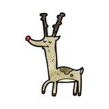 proud reindeer cartoon Stock Images