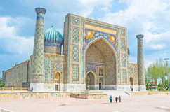 The proud of Samarkand Stock Images