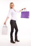 Proud shopper Stock Photo