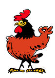 Proud smiling rooster Royalty Free Stock Photography