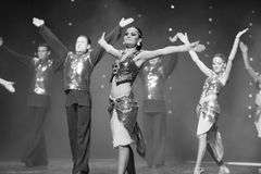 The proud V-India memories-the Austria's world Dance Stock Images