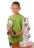 Proud winner Royalty Free Stock Photos