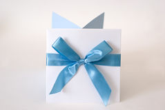 proue bleue Image stock
