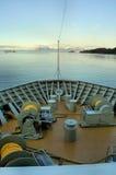 Proue d'un bateau Images libres de droits