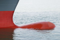 Proue de bateau Photo stock
