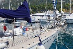 Proue de bateau Photos libres de droits