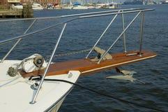 Proue de bateau Photos stock