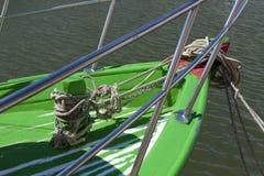 Proue de bateau Photographie stock
