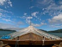Proue de bateau, Brésil. images stock