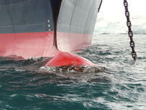 Proue de bateau moderne Photos stock