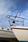 Proue de bateaux Image libre de droits