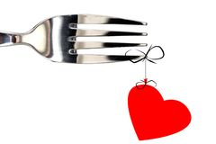 Proue de coeur Image libre de droits