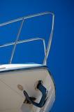 Proue de yacht Image stock