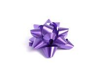 Proue pourprée de cadeau Image stock