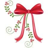Proue rouge de Noël Image stock