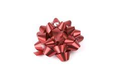 Proue rouge de Noël Image libre de droits