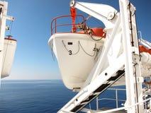 Proues d'un bateau de sauvetage images stock