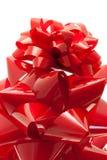 Proues rouges de cadeau Image libre de droits