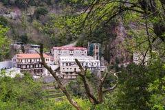 Free Proussos Monastery Near Karpenisi Town In Evrytania - Greece Stock Photo - 121979930
