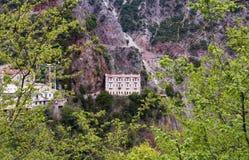 Free Proussos Monastery Near Karpenisi Town In Evrytania - Greece Stock Image - 121981351