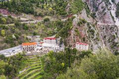 Free Proussos Monastery Near Karpenisi Town In Evrytania - Greece Royalty Free Stock Photography - 122366237
