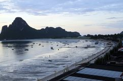 Província de khan do kriri de Prachuap em Tailândia Imagens de Stock Royalty Free