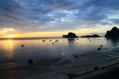 Província de khan do kriri de Prachuap em Tailândia Fotografia de Stock Royalty Free