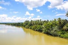 Província do kong do Koh em Kingdom of Cambodia perto da beira de Tailândia Imagem de Stock