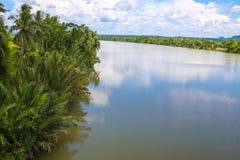 Província do kong do Koh em Kingdom of Cambodia perto da beira de Tailândia Fotos de Stock