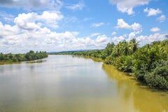 Província do kong do Koh em Kingdom of Cambodia perto da beira de Tailândia Imagens de Stock Royalty Free