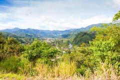 Província Panamá do chiriqui de Boquete Fotos de Stock Royalty Free