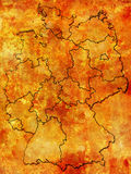 Províncias alemãs (estados) Foto de Stock
