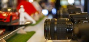 Prov av kameror Royaltyfri Bild