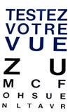 34/5000 prov din sikt som är skriftlig i franskt vektor illustrationer