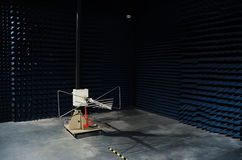 Prova dei prodotti dell'onda radio Fotografia Stock Libera da Diritti