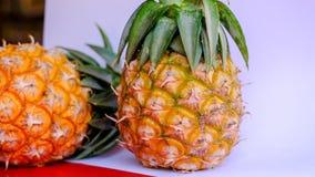 Prova del dolce di dimensione dell'ananas dell'Asia mini fotografie stock libere da diritti