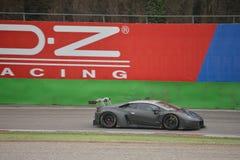 Prova del ¡ n GT3 2016 di Lamborghini Huracà a Monza Fotografie Stock Libere da Diritti