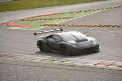 Prova del ¡ n GT3 2016 di Lamborghini Huracà a Monza Fotografie Stock