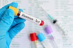 Prova di alluminio Fotografia Stock Libera da Diritti