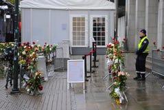 Prova di Anders Behring Breivik a Oslo Fotografie Stock