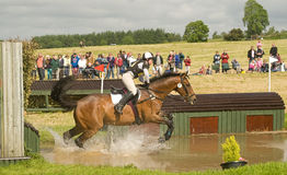 Prova di cavallo internazionale di Burgie 2010. Immagini Stock Libere da Diritti