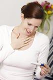 Prova di gravidanza positiva Immagini Stock Libere da Diritti